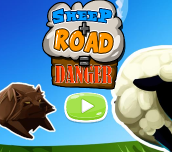 Hra - Sheep Road Danger