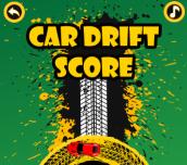 Hra - Car Drift Score