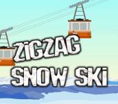 Hra - Zigzag Snow Ski