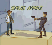 Hra - Save Man