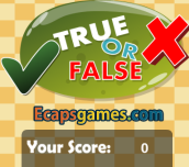 Hra - Eg True False
