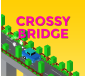 Hra - Crossy Bridge