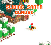 Sliding Santa Clause