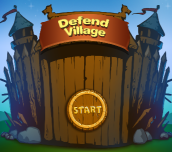 Hra - Defend Village