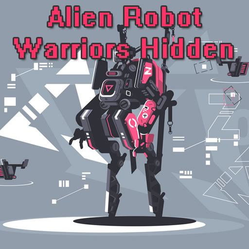 Hra - Alien Robot Warrior Hidden
