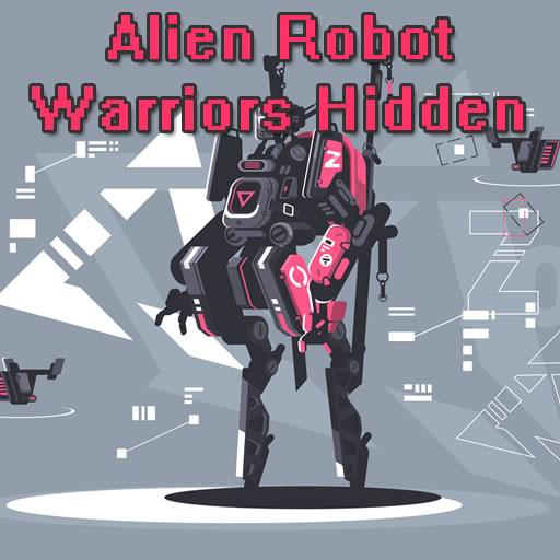 Hra - Alien Robot Warrior Hidden