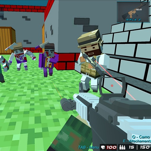 Hra - Blocky Wars Advanced Combat Swat