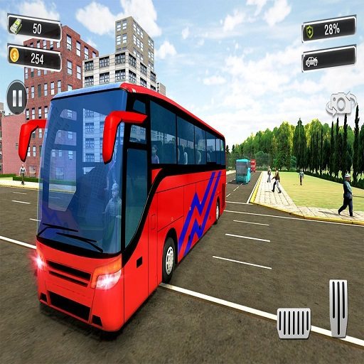 Hra - Real Coach Bus Simulator 3D 2019