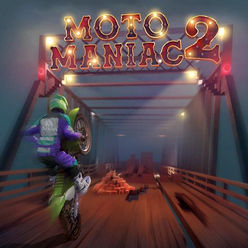 Hra - Moto Maniac 2