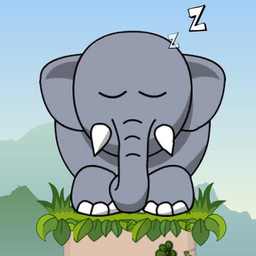 Hra - Snoring Elephatn Puzzle