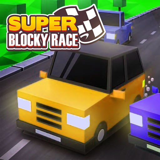 Hra - Super Blocky Race