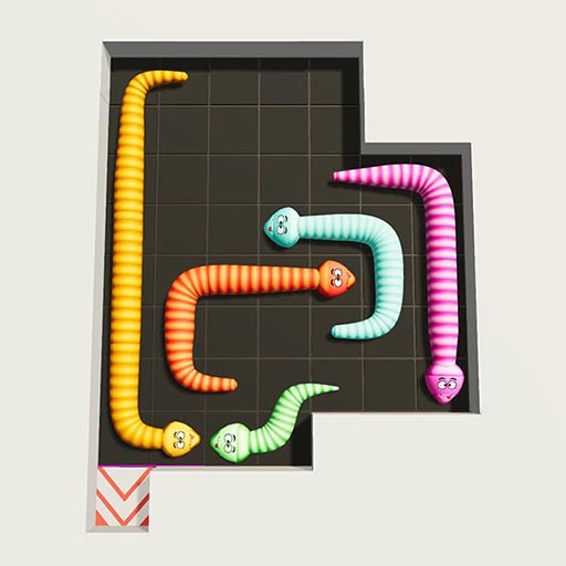 Hra - Snake Puzzle