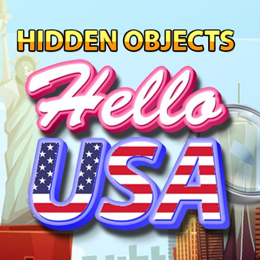 Hra - Hidden Objects Hello USA