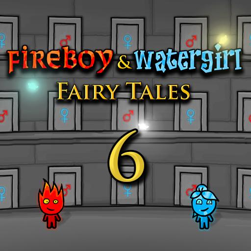 Hra - Fireboy & Watergirl 6: Fairy Tales